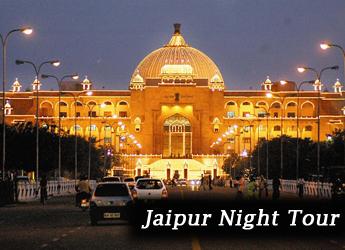 Jaipur night tour taxi
