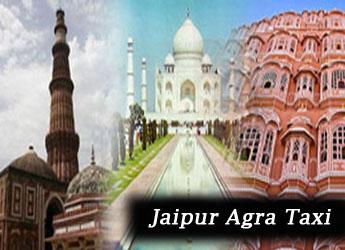 Jaipur Agra taxi